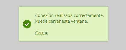 Outlook configurado correctamente.